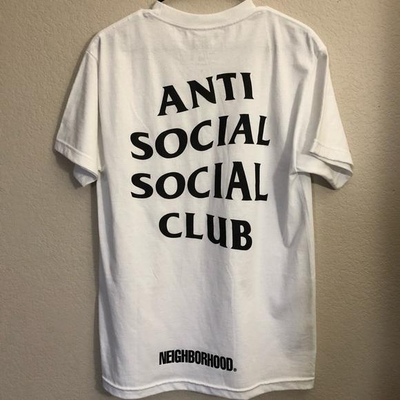 ac08d933c Anti Social Social Club Other - Anti Social Social Club X Neighborhood  Shirt M